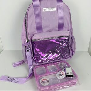 Justice Collection X backpack school bundle